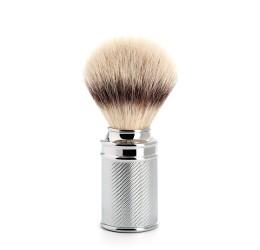 Muhle Chrome plated shaving brush (synthetic silvertip fibre)