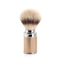 Muhle Rose gold plated shaving brush (synthetic silvertip fibre)
