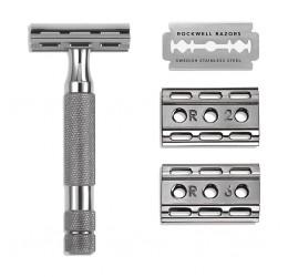 Rockwell 6C Gunmetal DE Safety Razor