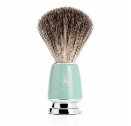 Muhle Rytmo Mint & Chrome Shaving Brush (Pure Badger)