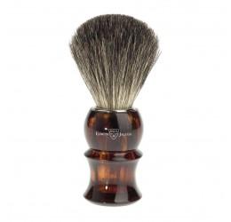 Edwin Jagger 81P13 Imitation tortoiseshell shaving brush (Pure Badger)