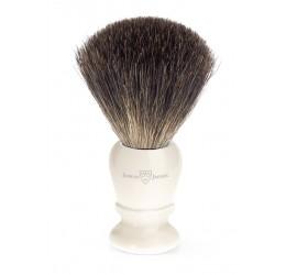 Edwin Jagger 81P47 Imitation Ivory shaving brush (Pure Badger)