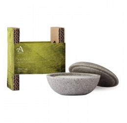 Arran Machrie Shave Stone and Soap with packaging