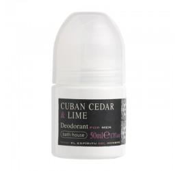 Bath House Cedar & Lime Deodorant 50ml