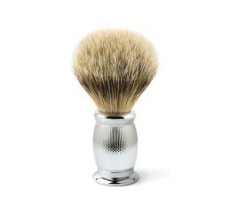 Edwin Jagger Bulbous Barley Shaving Brush (Silver Tip)
