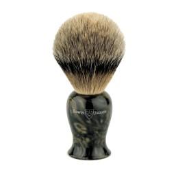 Edwin Jagger Plaza Imitation Black Marble Best Badger Shaving Brush