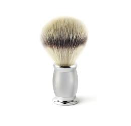 Edwin Jagger Bulbous Satin Shaving Brush (Synthetic Silver Tip)