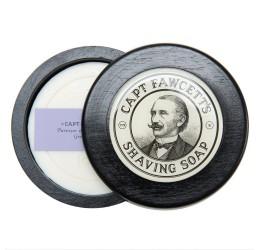 Captain Fawcett's Shaving Soap Wooden Bowl