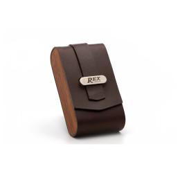 Rex Black Walnut Travel Case