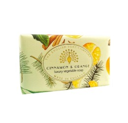 The English Soap Company Vintage Cinnamon & Orange Soap Bar 200g