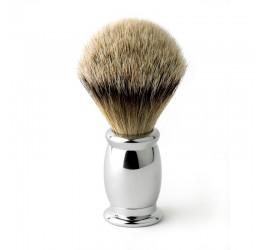 Edwin Jagger Bulbous Chrome Shaving Brush (Super Badger)