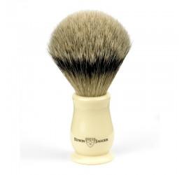 Edwin Jagger Chatsworth Imitation Ivory Shaving Brush (Super Badger)