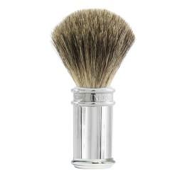 Edwin Jagger Chrome Lined Shaving Brush (Pure Badger)