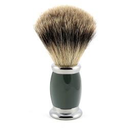 Edwin Jagger Green Bulbous Shaving Brush (Best Badger)