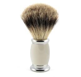 Edwin Jagger Grey Bulbous Shaving Brush (Best Badger)