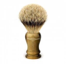 Edwin Jagger Loxley Imitation Horn Shaving Brush (Super Badger)