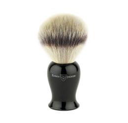 Edwin Jagger Plaza Imitation Ebony Synthetic Silver Tip Shaving Brush