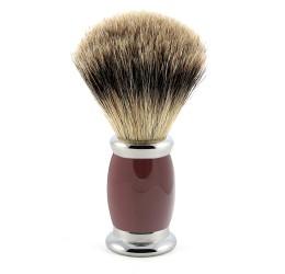 Edwin Jagger Red Bulbous Shaving Brush (Best Badger)