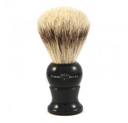Edwin Jagger Black Shaving Brush (Super Badger)