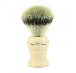 Edwin Jagger Imitation Ivory Shaving Brush (Synthetic Silver Tip)