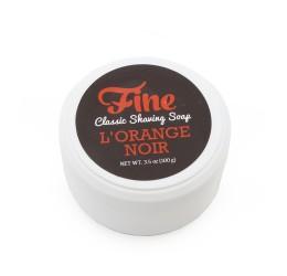 Fine Accoutrements L'Orange Noir Shave Soap