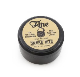 Fine Accoutrements Classic Snake Bite Shave Soap