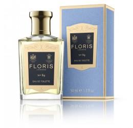 Floris No.89 Eau De Toilette 50ml and Packaging