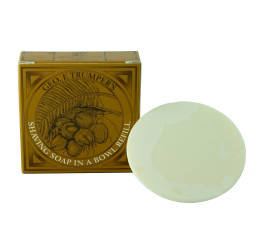 Geo F Trumper Coconut Oil Shaving Soap Refill 80g