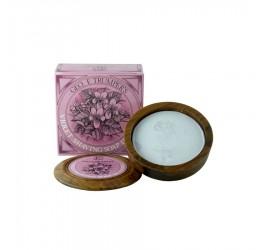 Geo F Trumper Violet Shaving Soap (Wooden Bowl)