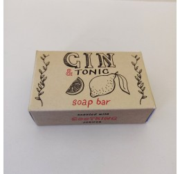 Barefoot & Beautiful Gin & Tonic Soap Bar 100g