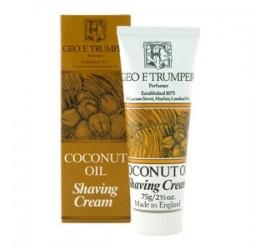 Geo F Trumper Coconut Oil Shaving Cream 75g