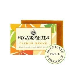 Heyland & Whittle Luxurious Handmade Citrus Grove Soap Bar 120g