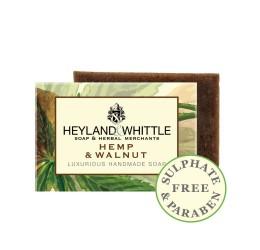 Heyland & Whittle Luxurious Handmade Hemp & Walnut Soap Bar 120g