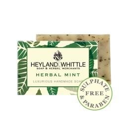 Heyland & Whittle Luxurious Handmade Herbal Mint Soap Bar 120g