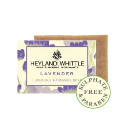 Heyland & Whittle Luxurious Handmade Lavender Soap Bar 120g