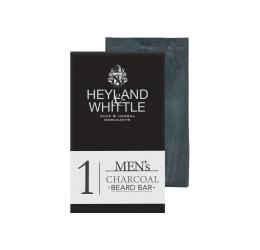 Heyland & Whittle Men's Charcoal Beard Bar 130g