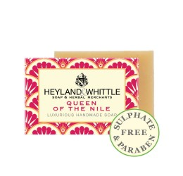 Heyland & Whittle Luxurious Handmade Queen of the Nile Soap Bar 120g