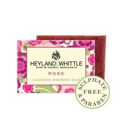 Heyland & Whittle Luxurious Handmade Rose Soap Bar 120g