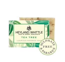 Heyland & Whittle Luxurious Handmade Tea Tree Soap Bar 120g
