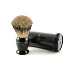 Edwin Jagger Best Badger Travel Shaving Brush (Ebony)