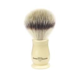 Edwin Jagger Chatsworth Ivory Shaving Brush (Synthetic Silvertip)