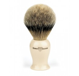 Edwin Jagger Imitation Ivory Plaza Best Badger Shaving Brush