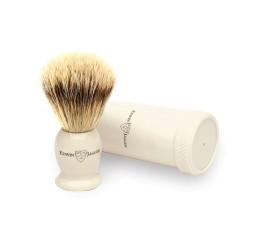 Edwin Jagger Super Badger Travel Shaving Brush (Ivory)