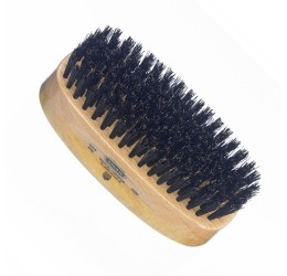 Kent Satin & Beechwood Hairbrush (Black Bristles)
