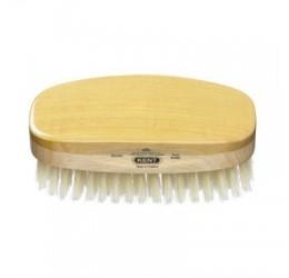 Kent Satin & Beechwood Hairbrush (White Bristles)