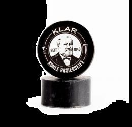 Klar Activated Charcoal Shaving Soap 110g