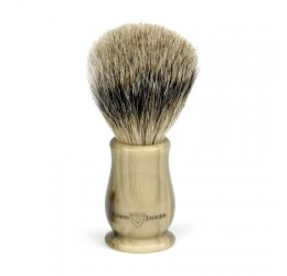 Edwin Jagger Chatsworth Imitation Horn Shaving Brush (Best badger)