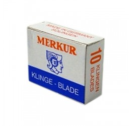 Merkur Moustache Razor Blades (10 Pack)