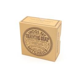 Mitchell's Wool Fat Shaving Soap & Ceramic Dish 125g