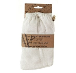 The Natural Sea Sponge Company Bamboo Head Towel in Packaging